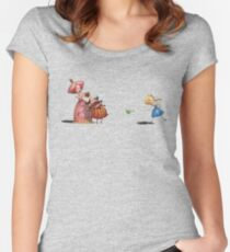 Frog princess Women's Fitted Scoop T-Shirt