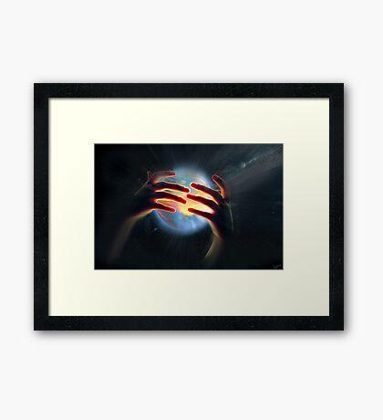 Light of Life Framed Print