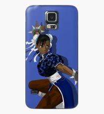 Black Chun Li Case/Skin for Samsung Galaxy
