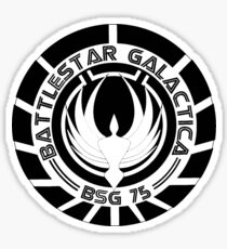 Battlestar Galactica Sticker