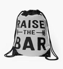 Raise the Bar (weight lifting) Drawstring Bag