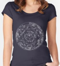 Key of Solomon Women's Fitted Scoop T-Shirt