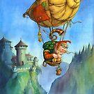 Balloon ogre by AndyCatBug