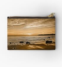 Sunset On The Central Coast OF Calif Studio Pouch