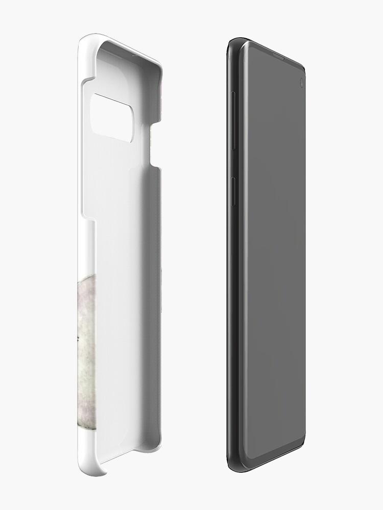 Vista alternativa de Funda y vinilo para Samsung Galaxy Elefante madre y bebé acuarela