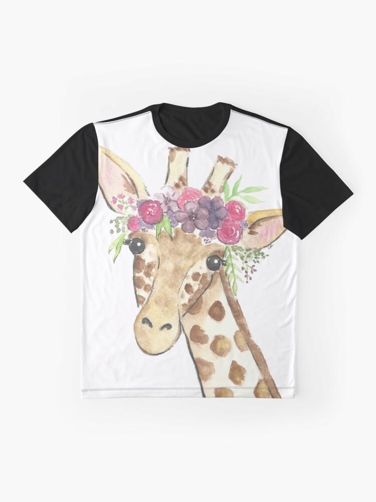 b9705864373f Giraffe flower crown watercolor