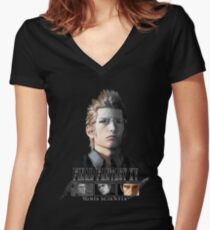 FINAL FANTASY XV - IGNIS Women's Fitted V-Neck T-Shirt