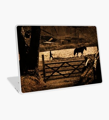 A Country Scene Laptop Skin
