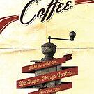 Devil Brand Coffee von pixelcafe