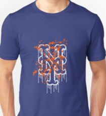 mets splatter Unisex T-Shirt