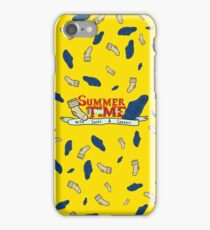 Summer Time - Adventure time parody  iPhone Case/Skin