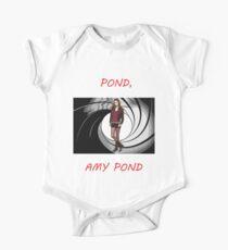 Pond, Amy Pond One Piece - Short Sleeve