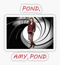 Pond, Amy Pond Sticker
