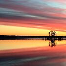 Sunrise on Tomahawk Lake - Minocqua, Wisconsin by Lynne Prestebak
