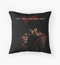 They Will Win This War Together Throw Pillow