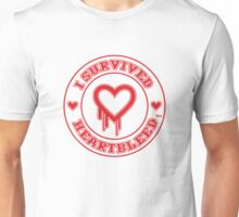 I Survived Heartbleed Unisex T-Shirt