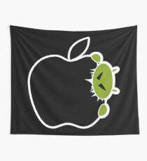 Android Bite Apple Wall Tapestry
