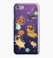 Space pets iPhone Case/Skin