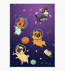 Space pets Photographic Print