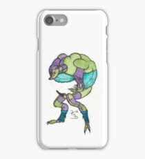 weird surreal water colour monster iPhone Case/Skin