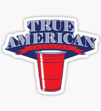 True American Champion (Variant) Sticker