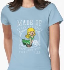Pin-Up-Girl in Green Dress for Vegans and Vegetarians T-Shirt