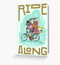 Ride Along Greeting Card