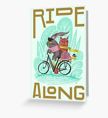 Ride Along Greeting Card