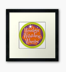 Weasley's Wizarding Wheezes logo Framed Print