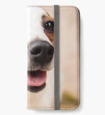 Jack Russel 1 iPhone Wallet