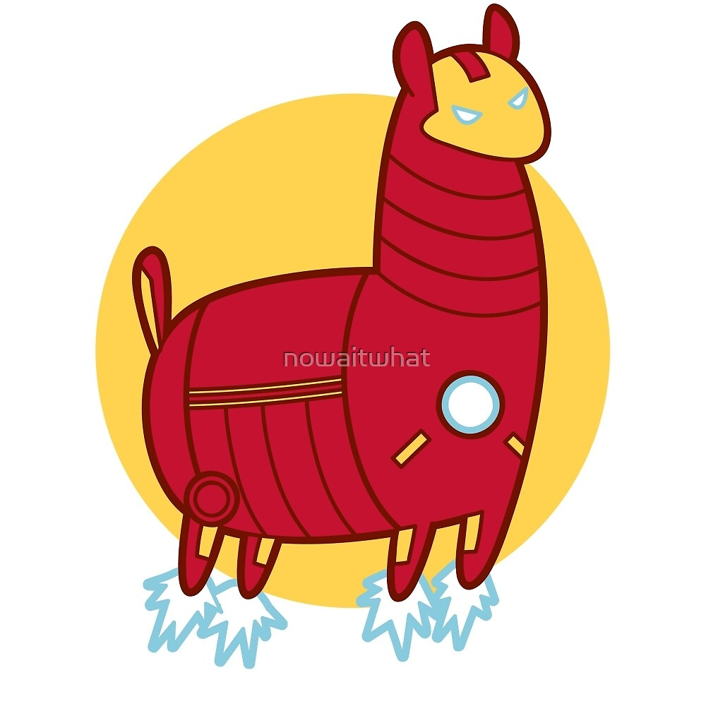 Iron Llama by nowaitwhat
