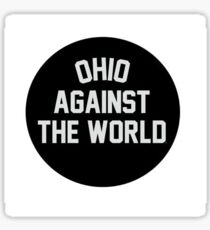 Ohio Agaisnt the World Sticker Sticker