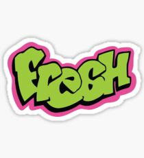 Fresh graffiti Sticker
