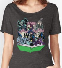 World of Toons Women's Relaxed Fit T-Shirt