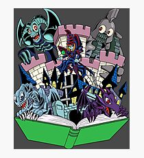 World of Toons Photographic Print