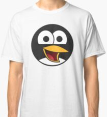 Linux Angry Tux Classic T-Shirt