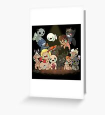 The Binding of Isaac Greeting Card