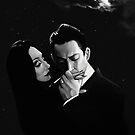 Gomez and Morticia Addams by Brad Collins