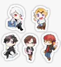 Mystic Messenger - The RFA crew Sticker