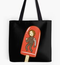 Strawberry Ice Pop Tote Bag