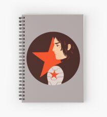 Red Spiral Notebook