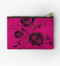 Roses and Love Urdu Poem Calligraphy Studio Pouch