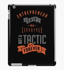 Entrepreneur Tees iPad Case/Skin