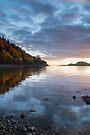 Loch Linhe at last light, nr Kinlochleven, Scotland by Cliff Williams