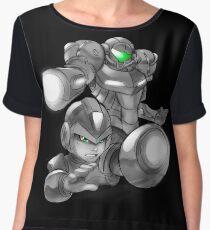 Mega Metroid Chiffon Top