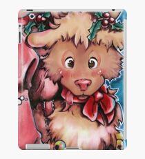 Rudi, the funny Reindeer  iPad Case/Skin