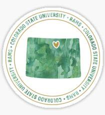 Colorado State University - Style 4 Version 1 Sticker