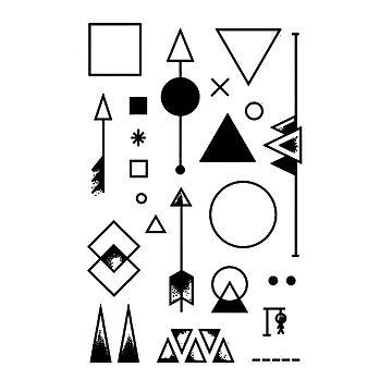 Stammes-Designs von Lil-Salt