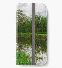 Fenniscourt Lock, Barrow Navigation, Bagenalstown, County Carlow iPhone Wallet/Case/Skin