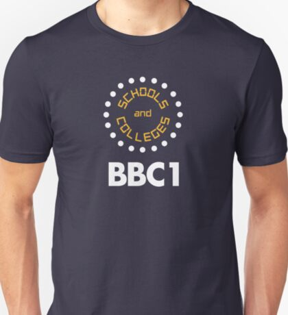 NDVH BBC1 Schools and Colleges - 1970s T-Shirt